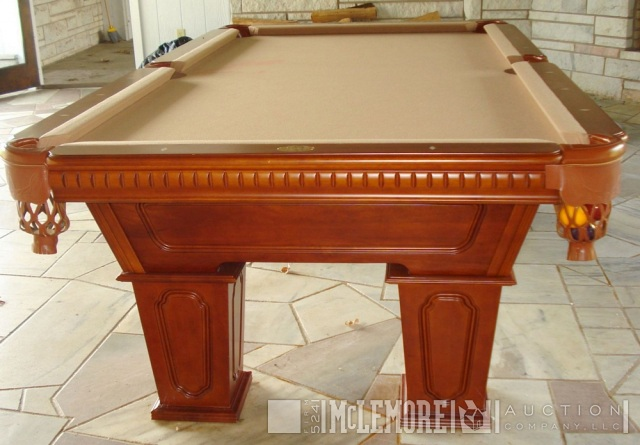 Cannon Billiards Pool Table With Bradford Slate Top McLemore - Cannon pool table
