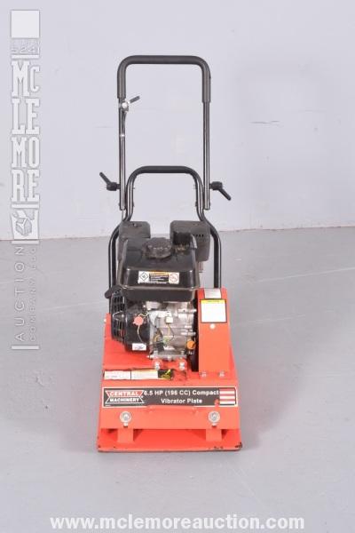 Central machinery vibrator