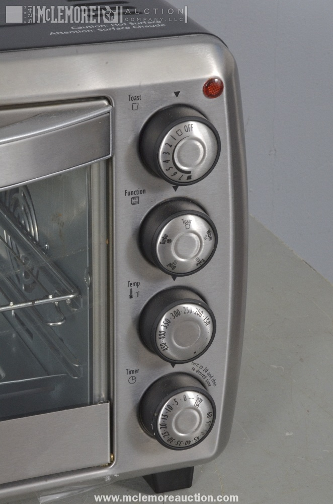 oster convection countertop toaster oven stainless steel tssttvcg03