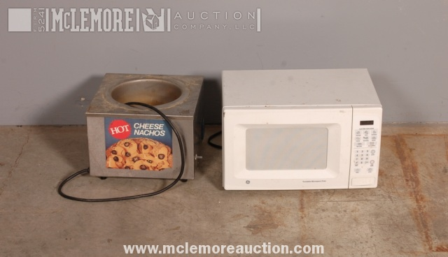 Ge Jes638wf 001 Turntable Microwave Oven And 8pww 1 Nacho Cheese