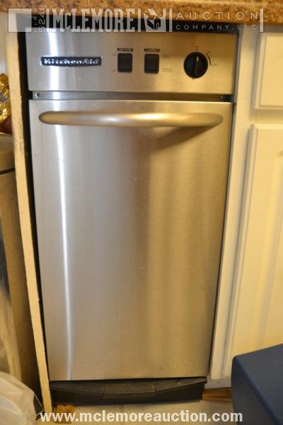 Kitchenaid KUCC151GSS1 Trash Compactor | McLemore Auction Company,