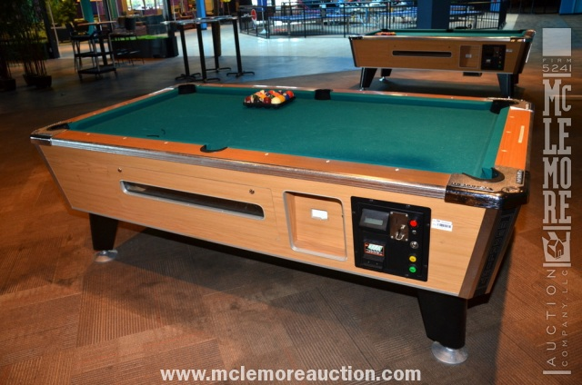 Medalist PayToPlay Pool Table McLemore Auction Company LLC - Games to play on a pool table