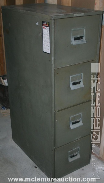 Sperry Rand Victor Fire Master LX File Cabinet   McLemore Auction ...