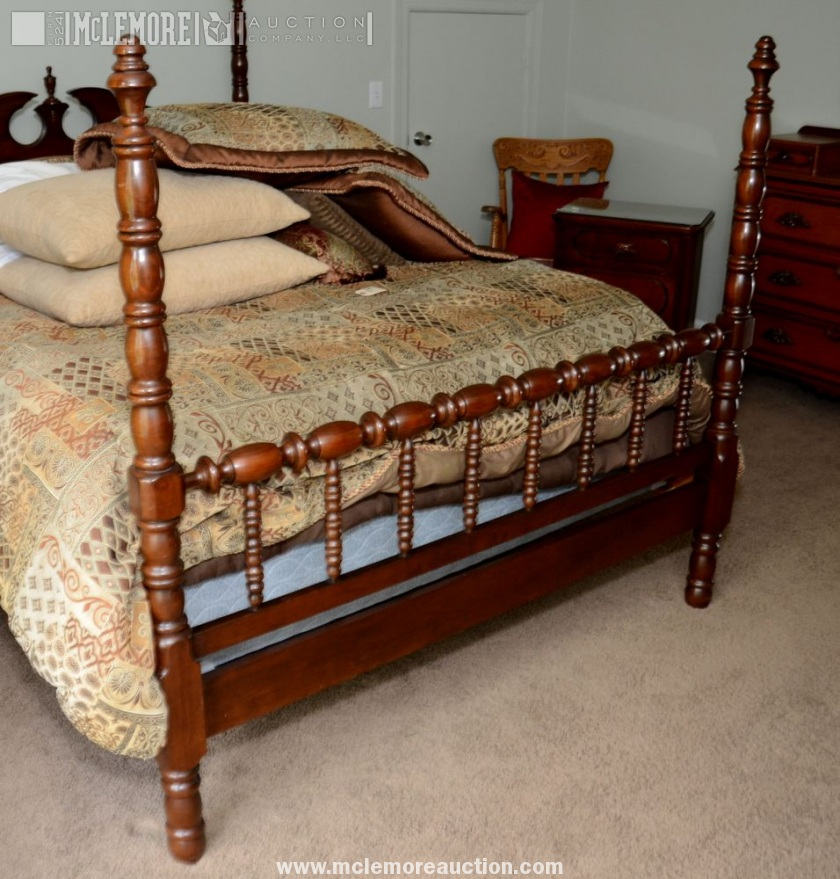 Queen Size Lillian Russell Poster Bed by Davis Cabinet Company ...