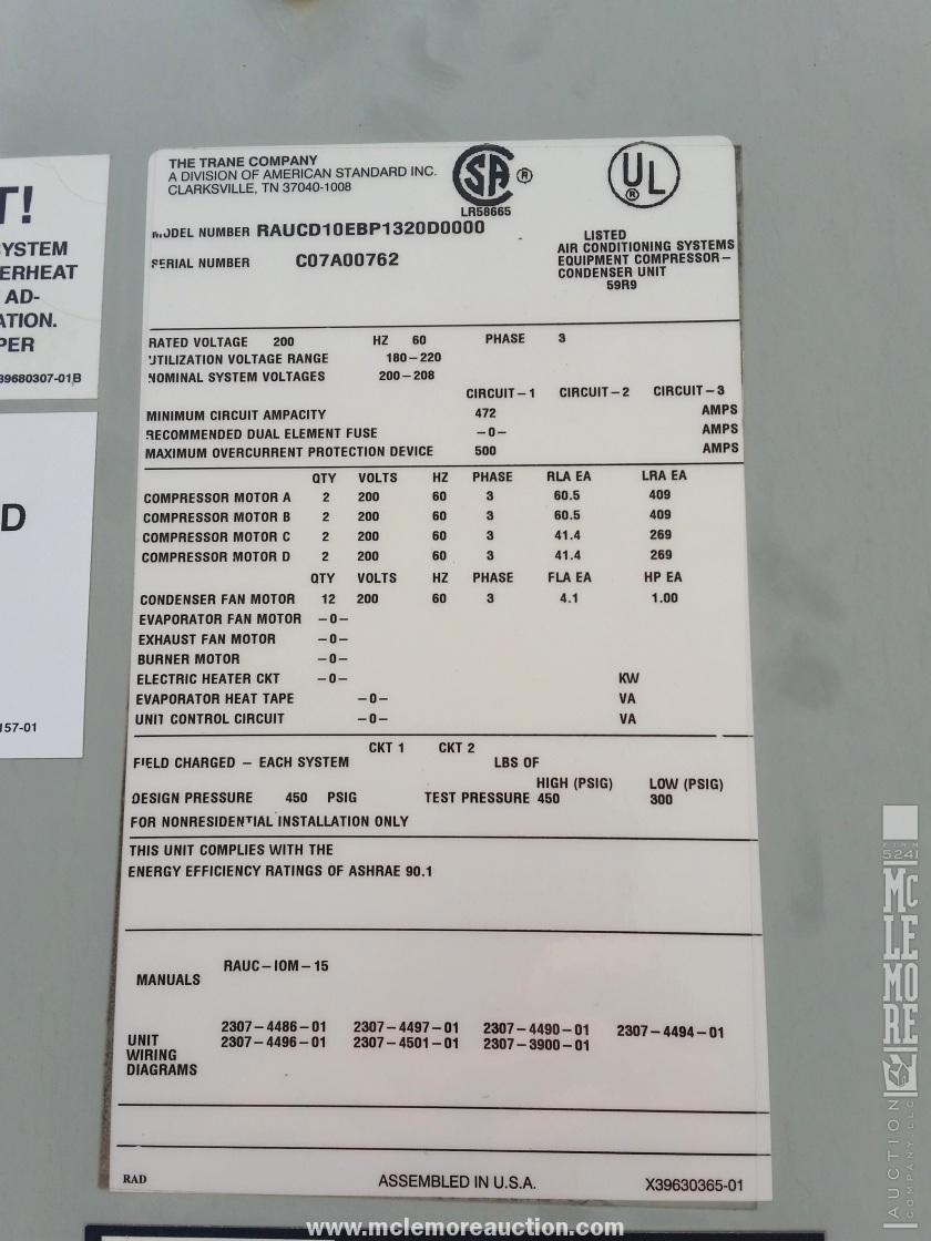 Trane Unit Manual Rauc Wiring Diagram Image Not Found