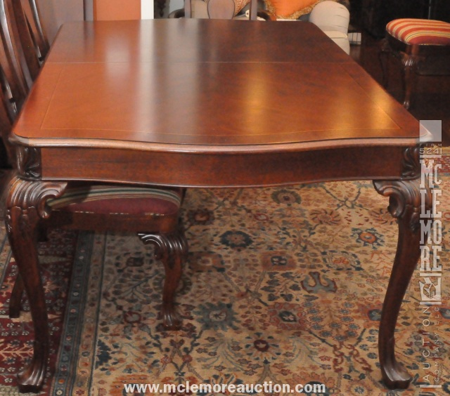 Thomasville Trafalgar Square Solid Honduras Mahogany Table With